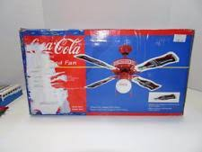 1997 coca cola ceiling fan ceiling fan in collectables ebay