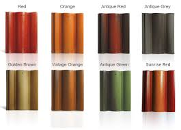 Roof Tile Colors Monier Elabana