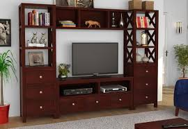 Tv Unit Interior Design Tv Units Buy Wooden Tv Unit Online Tv Stand Cabinet
