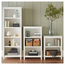 Threshold Carson 5 Shelf Bookcase White Stafford 5 Shelf Bookcase Target