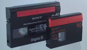 dv cassette minidv 1995 late 2000s museum of obsolete media