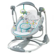 Baby Rocking Chair Walmart Amazon Com Ingenuity Convertme Ridgedale Swing 2 Seat Baby
