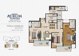 amrapali aurum towers noida sector 76 luxurious apartments