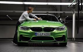 green bmw driveable trophy