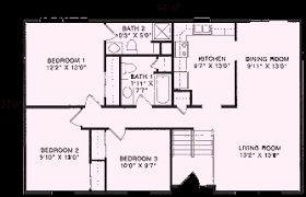 raised ranch floor plans raised ranch floor plans 1 210 to 1 248