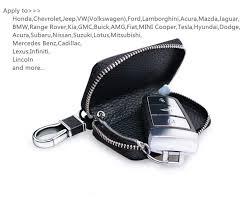 lexus wallet key card amazon com buffway car key case genuine leather car smart key