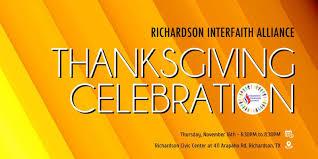 interfaith thanksgiving celebration episcopal church of the