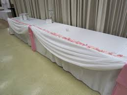 Light Pink Table Cloth Pink Wedding Set The Mood Decor