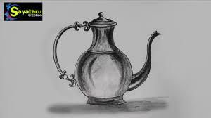 jug drawing and sketch step by step sayataru creation youtube