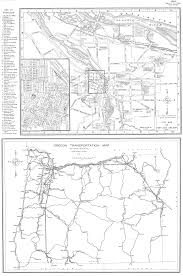 Map Of Oregon Highways by Oregon End Of The Trail Compiled By Workers Of The Writers