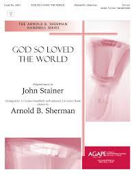 god so loved the world hope publishing company