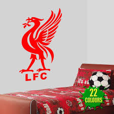 amazon com liver bird liverpool fc wall decal art stickers