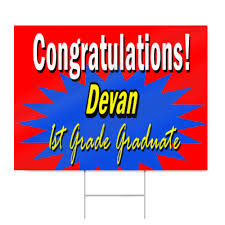 graduation sign graduation sign for elementary school signstoyou