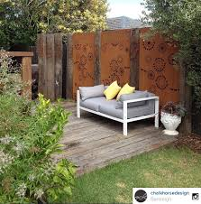Backyard Screening Ideas Here S A Visual Feast Our Fireworks Steel Fence Screening