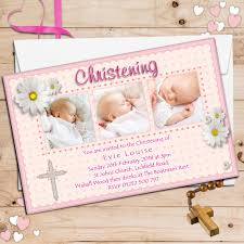 Baptism Invitations Cards Personalised Christening Invitations Personalised Baptism Cards