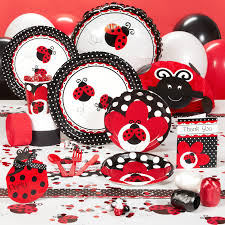 ladybug baby shower ladybug fancy birthday and baby shower complete line including