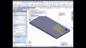 solidworks linear pattern solidworks tutorials modeling using the linear pattern tool youtube