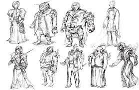 design process 1 u2013 victorian steampunk thief 1 u2013 tim guo design