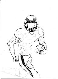 football players coloring pages drawing kids clip art library