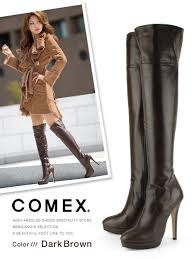 s boots knee high brown bemilano rakuten global market boots comex knee high boots high