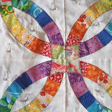 Double Wedding Ring Quilt by Double Wedding Ring Quilt The Workroom Sewing Classes U0026 Fabric