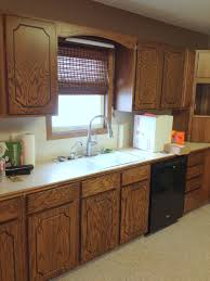Unfinished Solid Wood Kitchen Cabinets Kitchen Simple Window Plus Calm Curtain Color Beside Kitchen
