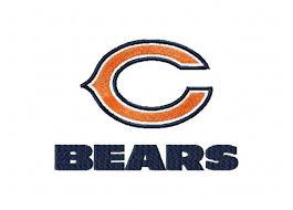 Chicago Bears Bears 3 Logos Machine Embroidery Design For Instant