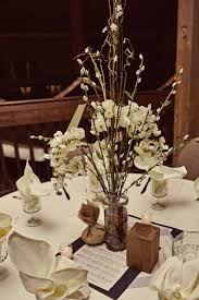 wedding centerpieces for round tables charming rustic wedding decorations laminate wooden flooring