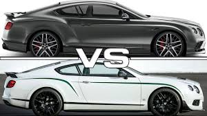 bentley continental supersports 2017 bentley continental supersports vs bentley continental gt3 r
