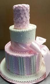Baby Shower Leri - babygirl birthday cake kız çocuk doğumgünü pastası
