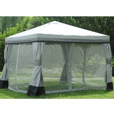 gazebo mosquito netting sunjoy replacement mosquito netting for valence gazebo reviews