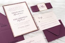 Wedding Invitations Chicago Second City Stationery Invitations Chicago Il Weddingwire