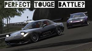 cambered supra perfect touge battle rx 7 vs supra usui pass assetto corsa