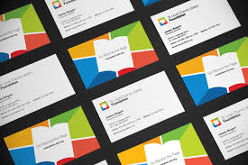 Business Cards St Louis St Louis County Library Foundation Rebrand On Behance