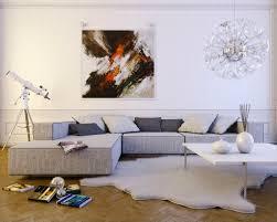 Living Room Contemporary Light Gray L Shaped Sofa Living Room Room L