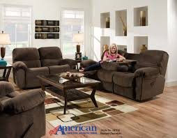 Living Room   Modern Reclining Sofa Ideas For Living Room - American furniture living room sets
