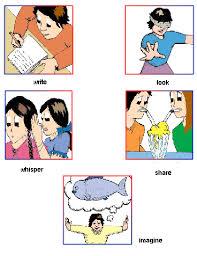 english lessons children lesson 9 present tense action verbs