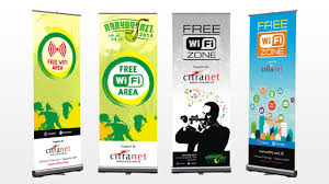banner design ideas free wifi x banner design by mbah weng on deviantart
