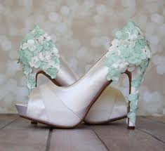 mint wedding shoes wedding shoes light ivory platform wedding shoes with light