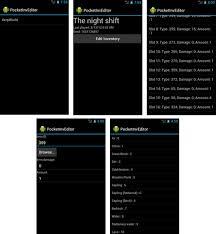 pocket inv editor pro apk pocketinveditor inventory editor for android minecraft pe mods