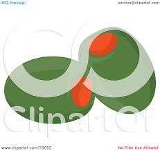 martini olive clipart royalty free rf clipart illustration of two green olives stuffed