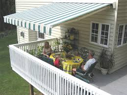 Sun Awnings For Decks Retractable Patio U0026 Deck Awnings Nationwide Sunair Maryland