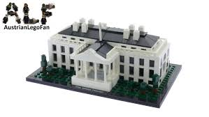 lego architecture 21006 the white house lego speed build review