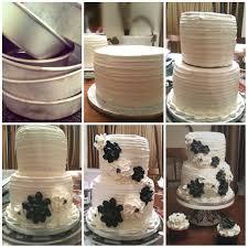 a wedding cake savor good food