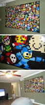 131 best boys rooms images on pinterest videogames bedroom room lego mosaic i need a secret geek cave in my house because i