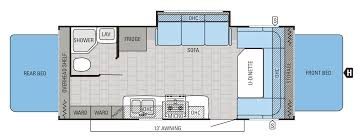 jayco floor plans 2016 new jayco jay feather 19xud travel trailer in colorado co
