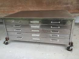 vintage flat file cabinet vintage flat file cabinet coffee table measures 40 3 4 wide 28 1 2