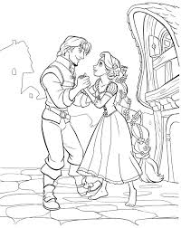 disney princess tangled rapunzel coloring sheets free printable