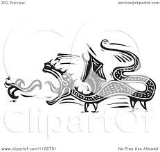 fire breathing dragon coloring pages clipart of a fire breathing dragon black and white woodcut