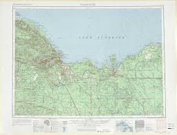 Maps Michigan by Marquette Topographic Maps Mi Usgs Topo Quad 46086a1 At 1